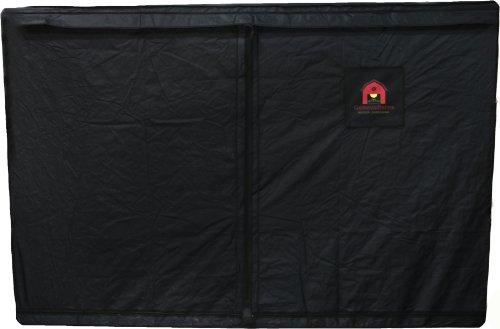 41syxRlgstL Geneva Barns GB90TW Reflective Hydroponic Grow Tent with T-Zipper, 118