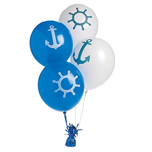 Fun Express Nautical Print Balloons