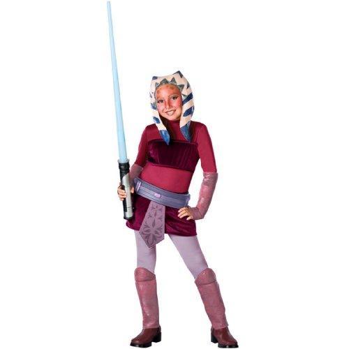 Star Wars Clone Wars Ahsoka (Disney Star Wars Clone Wars: Ahsoka Deluxe Child Costume Medium)