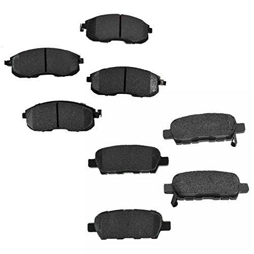 Front & Rear Premium Posi Ceramic Brake Pads Set for Nissan Infiniti