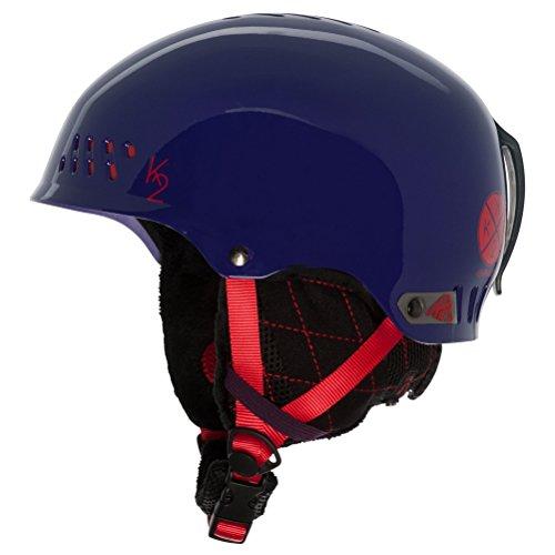 (K2 Emphasis Ski Helmet, Purple, Small)