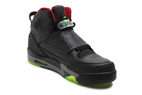 091207230734 - Jordan Gradeschool Son Of Black/Cool Grey/Green Pulse/Gym Red 512245-006 14 carousel main 2