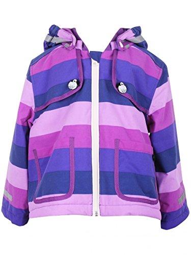 Danefae Wilma Winter Jacket Violet Stripe