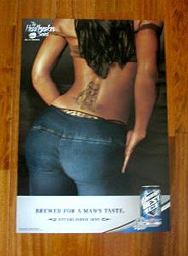 Milwaukees Best Ice Pitbull Tattoo Poster