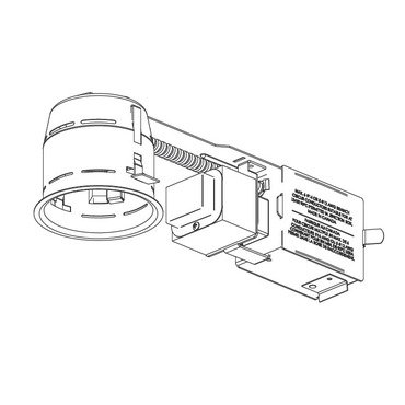 Contrast 3.5 Shallow Remodel Housing w Magnetic Transformer IT3000CM