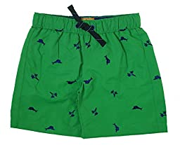 Tommy Bahama Little Boys\' Toddler Marlin Print Swim Trunk, Green, 2T