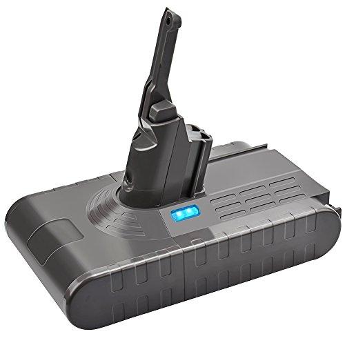 Cleaner Stick Cordless Power Vacuum (Bonadget Replacement Battery 21.6V-22.2V 4000mAh for Dyson V8 Lithium Ion Battery (1 Pack))
