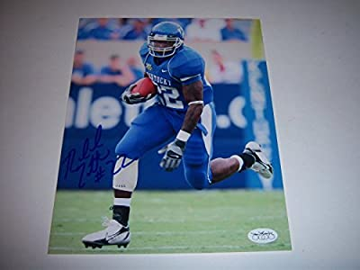 Rafael Little Kentucky Wildcats holo Signed 8x10 Photo - JSA Certified - Autographed College Photos