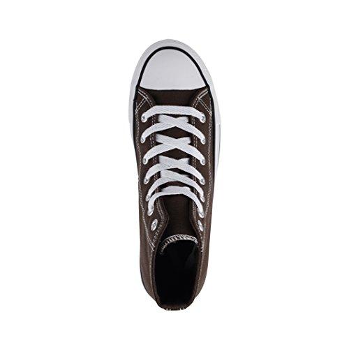 Fällt Eine Turnschuh Sneaker High Elara Basic Brown Größer Aus Schuhe Top für Textil Herren Damen Nummer Unisex Sportschuhe YFq68qOw