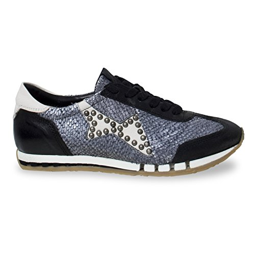 Sneaker Trip - von AS.98 - Farbe schwarz weiß für Damenschuh , toller Schuh für Outdoor - Frühling - Sommer- Herbst Tage