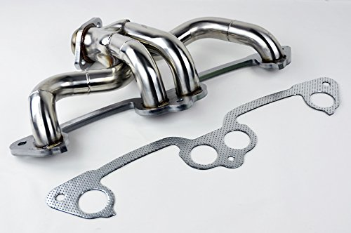 (Jeep Wrangler 1991-2002 2.5L L4 Stainless Manifold Header w/ Gasket)