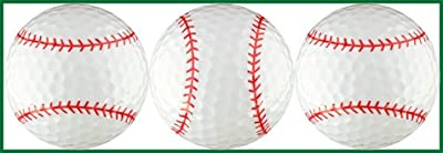 EnjoyLife Inc Baseballs Golf Ball Gift Set