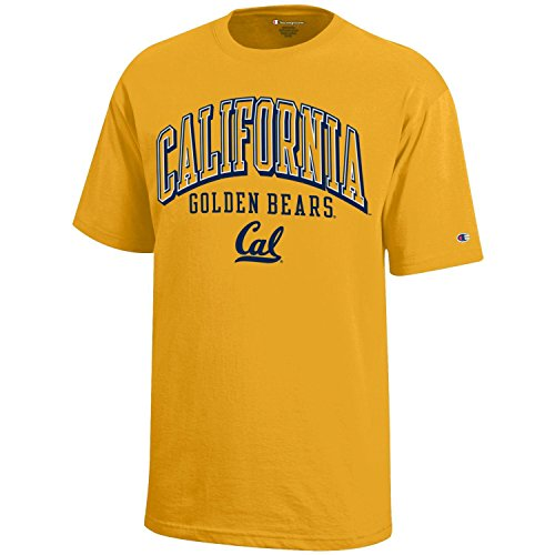 - NCAA Champion Boy's Short Sleeve Jersey T-Shirt California Golden Bears X-Large