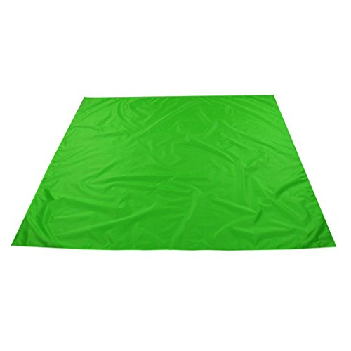 Makalon 1.5mx1.4m Waterproof Outdoor Picnic Blanket Camping Park Moistureproof Mat (Green)