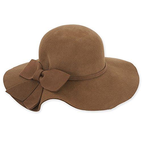 adora-womens-wool-felt-wide-brim-floppy-fedora-hat-with-large-bow-462-b-pecan
