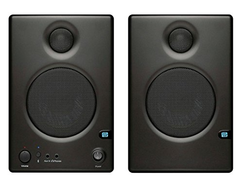 2 Way Compact Shielded Speakers (Presonus Ceres C3.5BT 2-Way Powered Speakers with Bluetooth)