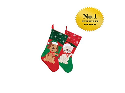 Pack Christmas House Stockings Inch