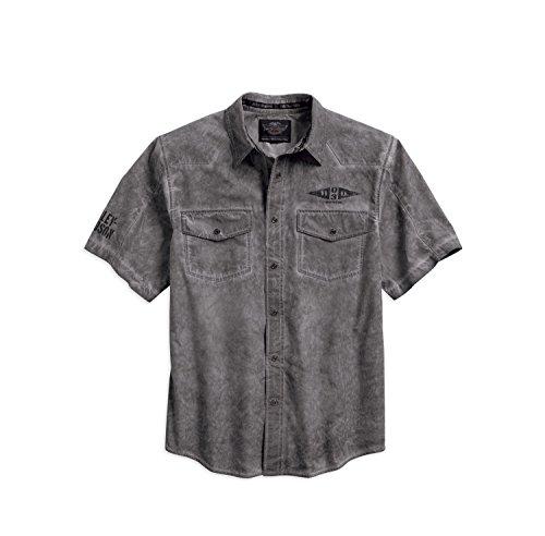 Harley-Davidson Sinister Skull Distressed Shirt 96149-16VM Herren Shirt