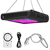 600W LED Grow Light, Plant Grow Lamp with Timer, Double Chips Full Spectrum with UV and IR for Greenhouse Indoor Plant Veg and Flower (AGLEX) Review