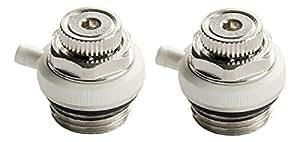 Sanitop-Wingenroth - Válvula de ventilación para radiadores (2 unidades, 1,27cm)