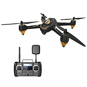 HUBSAN H501SS X4 Pro GPS FPV Drone with 1080P HD Camera, 6-Axis Gyro 5.8G 4 Channel Brushless Motor RC Quadcopter, Auto Return Home RTF 41sz1QEc86L