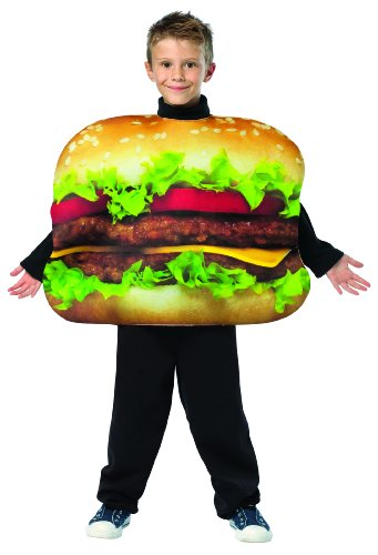 Cheeseburger Child Costume (As Shown;7 To (Cheeseburger Child Costumes)