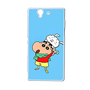 Generic For Xperia Sony Z High Quality Back Phone Cover For Teens Custom Design With Crayon Shin Chan Choose Design 1