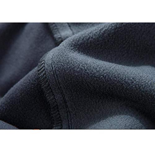 Da Impermeabili Uomo 88 Antivento All'aria Bobo Casual Caldi Pantaloni Grau Aperta wEIqpxB