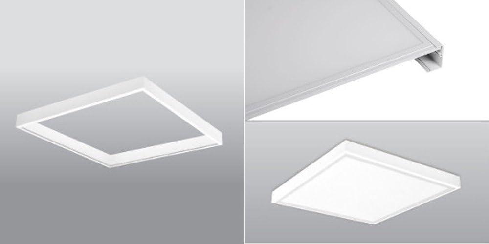 PureLed LED Panel Ultraslim BACKLIGHT 120x30cm Kaltwei/ß 600K 48W 4320lm Lampe Leuchte Deckenleuchte Einbauleuchte Pendelleuchte Wandleuchte inkl Aufbaurahmen Trafo und Befestigungsmaterial