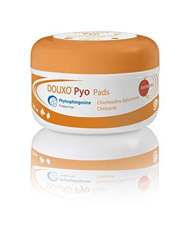 Douxo Pyo, vet recommended antibacterial/antifungal dog/cat skin wipes (30  pads)
