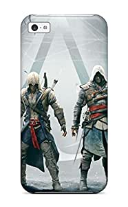 Iphone Cover Case - Assassins Creed Altair Ezio Connor Edward Protective Case Compatibel With Iphone 5c