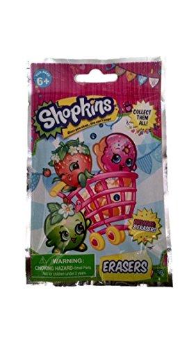 Shopkins Large Erasers Blind Bag (2 erasers per bag) (Shopkins Big Basket compare prices)