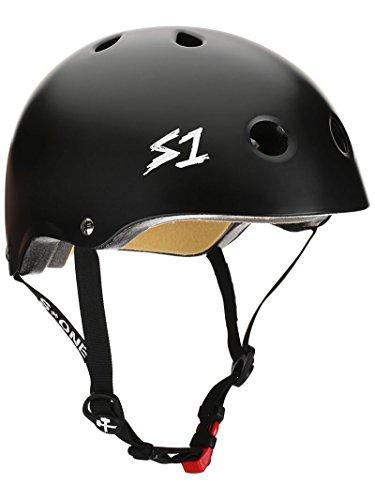 (S-ONE Mini Lifer CPSC Helmet XL Matte Black)