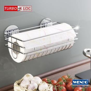 Küchenrollenhalter Ohne Bohren wenko 5631100 turbo loc küchenrollenhalter befestigen ohne bohren