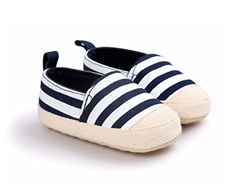 Baby Steps Anchor Baby Boy Shoes (Blue) - 4