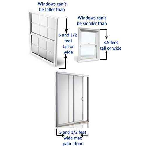 Lock-it Block-it - Home Security Window Bars - 2 Pack by Lock-it Block-it (Image #5)