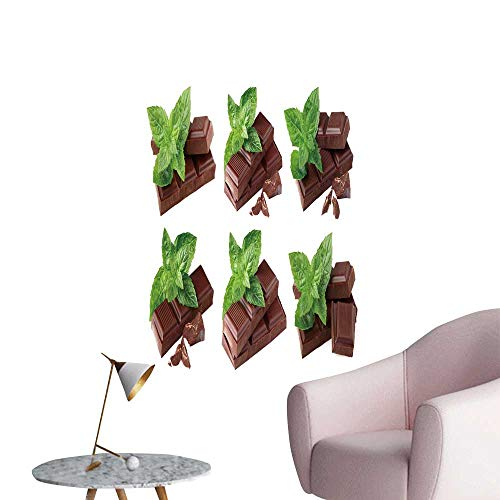 (SeptSonne Wall Decals Collage from Chocolate Mint Environmental Protection Vinyl,16