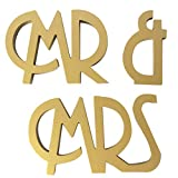 Wooden MR MRS Wedding Decoration Props Standing Romantic Capital Letters Engament Party Ornament Regard