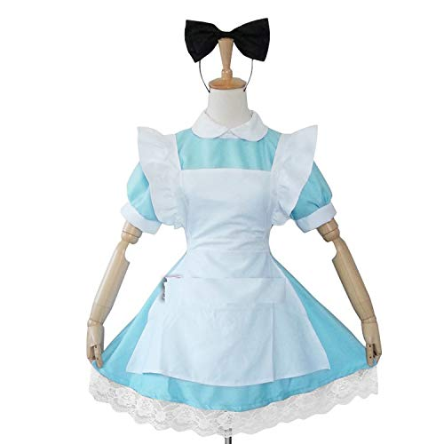Costume Adult Lolita Anime Halloween Costumes for Dress Plus Size Maid,IT,8T -