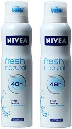 - Nivea Fresh Natural Offer Deodorant Spray - For Women (150 ml)