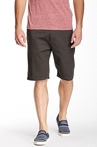Volcom Mens Vmonty Modern Fit Short (31, Charcoal Gray) by Volcom