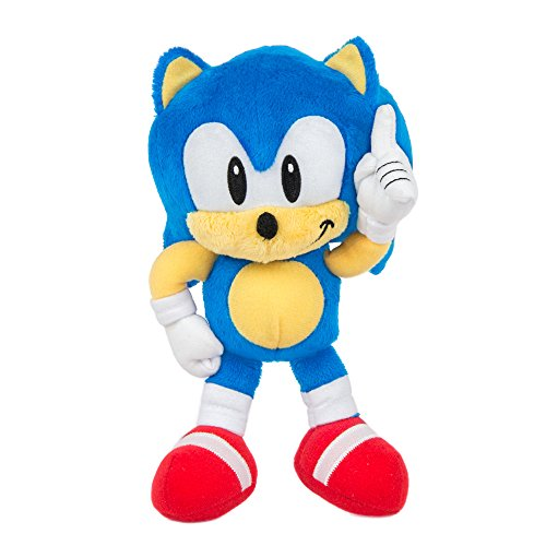 TOMY Sonic Collector Series Small Classic Plush, 8