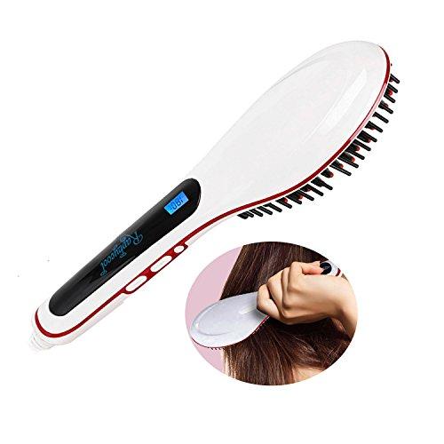 RC Hair Straightening Brush Digital Hair Straightener Ant...