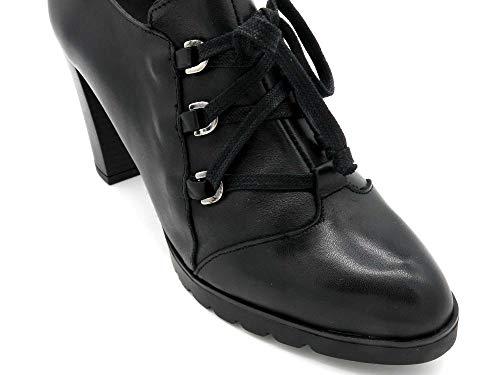 Black Negro Scarpe 8005 Digodigo Stringate Donna 6Cg61nwq