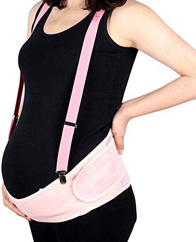 マタニティ妊娠サポートベルト、胃腰部サポートは、腰と骨盤の痛みを和らげます(フリーサイズ),Flesh