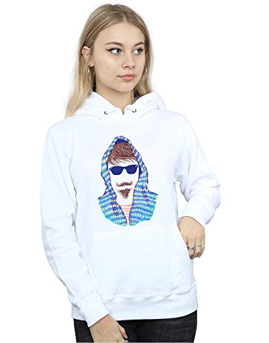 Mujer Cult Blanco Capucha Hipster Absolute Drewbacca Hooded 6g1q4vw