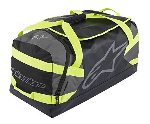 Goanna Duffle Bag (One Size, Black Anthracite Yellow Fluo)