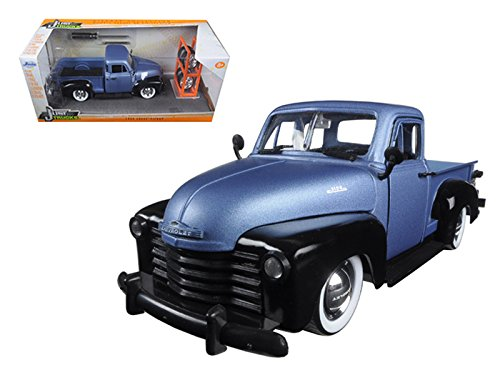 1953 Chevrolet Pickup (1953 Chevrolet Pickup Truck Blue/Black