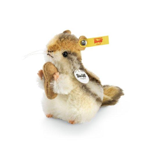 Steiff 070075 Kecki Chipmunk Plush Animal Toy, Brown/Beige