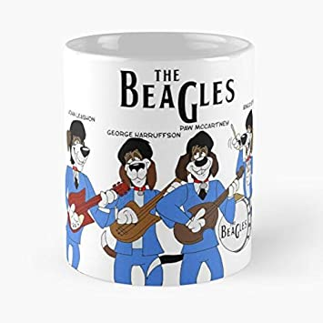Amazon.com: Dog Dogs Beagle Beagles Beatles John Lennon Paul ...